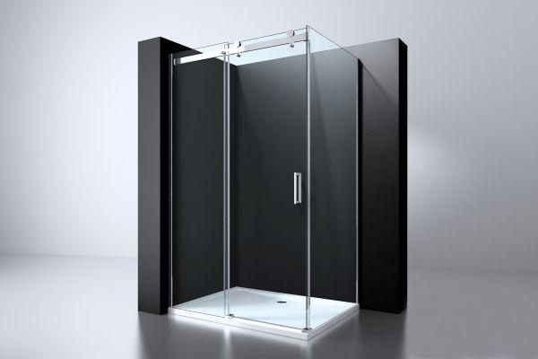 Best design erico rechthoek cabine schuifdeur wand 120x90x200cm nano glas 8mm
