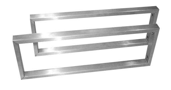 Best design paar rvs 304 beugels 44x15 cm