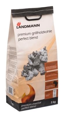 Landmann prem,houtskool perf,blend 3kg fsc 100%