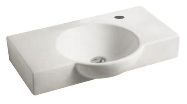 Best design leco wastafel 70x43x11,5 cm