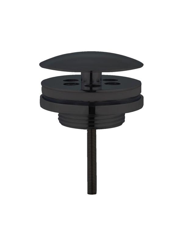 Best design low fontein afvoer plug nero 5 4 mat zwart