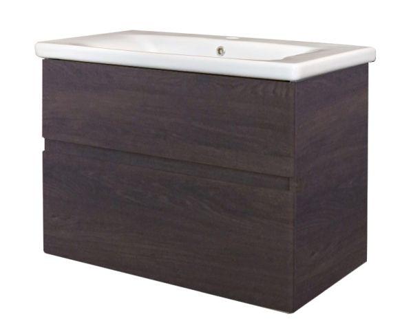 Best design quick greeploos meubel onderkast wastafel 65 cm dark brown