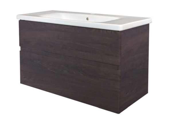 Best design quick greeploos meubel onderkast wastafel 80 cm dark brown
