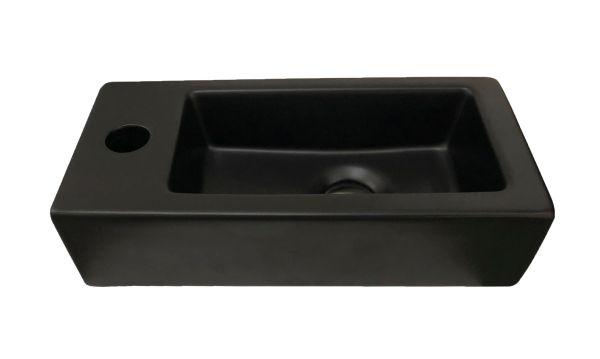 Best design farnetta fontein links 37x18x9cm mat zwart