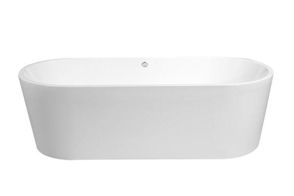 Best design becoma mat wit vrijstaand bad 178x80x55cm