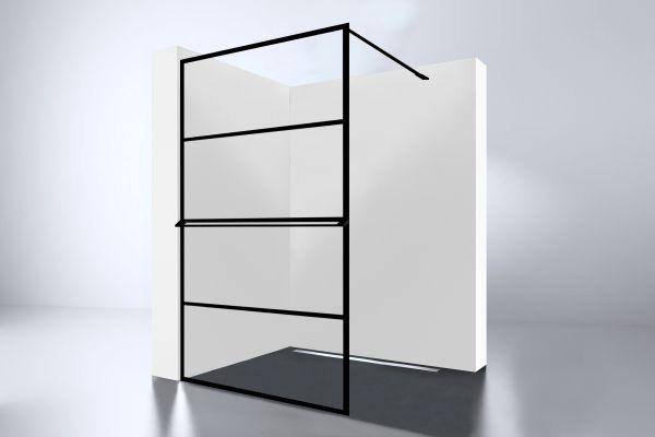 Best design noire 1000 screen inloopdouche walk in 1000x2000x10mm
