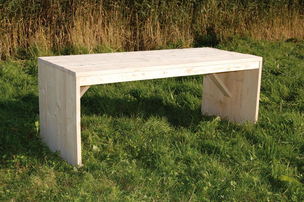 S/2 houten bloementafels 76x28cm/85x35cm van max4home kopen ...