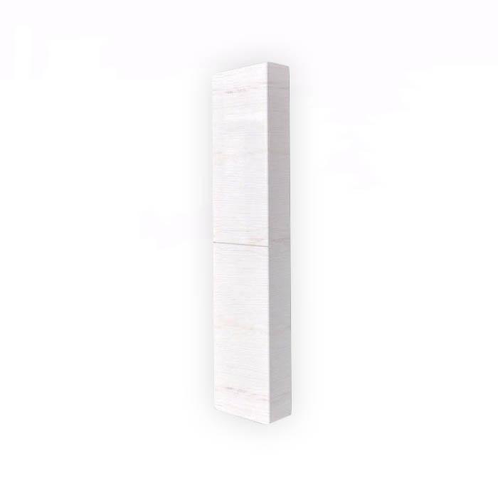 Kolomkast half-hoog lours links en rechts pine-white Vanaf u20ac 253.00 ...