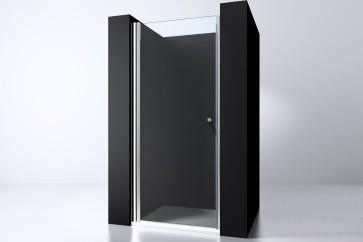 "Best-design ""erico"" nisdeur met profiel 88-90cm h=200cm nano glas 6mm"