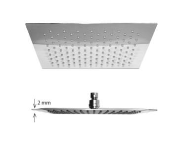 """Best-design """"square-thin"""" regendouche 300x300 mm dikte 2mm"""