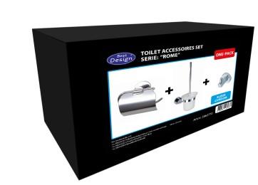 """Best-design one-pack toilet accessoires set """"rome"""""""