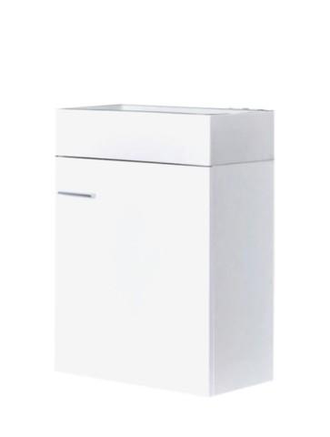 "Best-design ""wiko"" fonteinmeubel 45cm keramiek glans-wit"