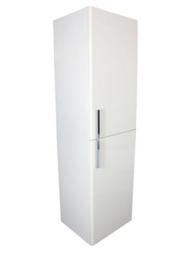 "Best-design ""lours"" half-hoge kolomkast l&r 120x35x30 cm glans-wit"
