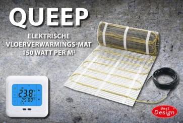 """Best-design """"cheap"""" elektrische vloerverwarmings-mat 15.0 m2"""