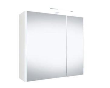 """Best-design """"happy"""" mdf spiegelkast + verlichting 60x60cm"""