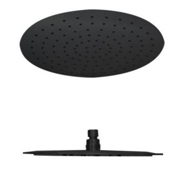 """Best-design rvs """"nero"""" regendouche rond 300mm mat-zwart"""