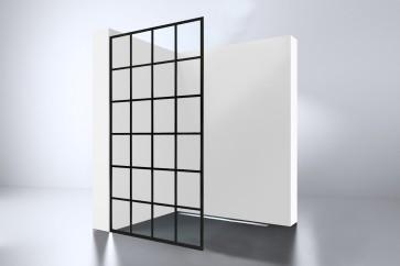 "Best-design ""black 1000 screen"" inloopdouche walk-in 1000x2000x10mm"