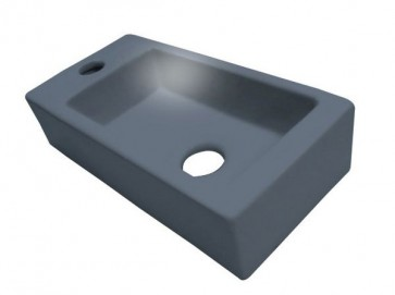"""Best-design """"mini-block"""" fontein antraciet-grijs links 36x18x9cm"""