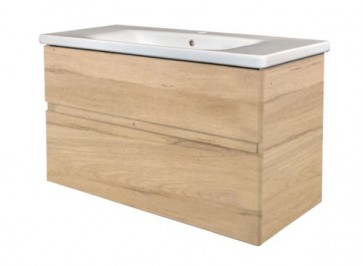 "Best-design ""quick-greeploos"" meubel onderkast + wastafel 80 cm oceanic-a"