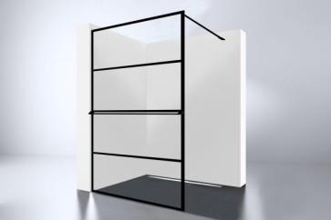 "Best-design ""noire 1200 screen"" inloopdouche walk-in 1200x2000x10mm"
