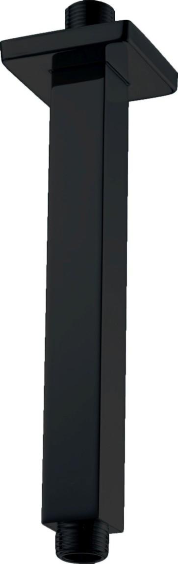 """Best-design rvs """"nero-muka"""" plafondbeugel vierkant mat-zwart"""