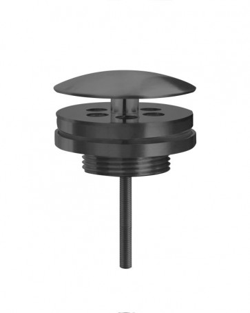 "Best-design ""moya"" low fontein afvoer plug 5/4"" gunmetal"