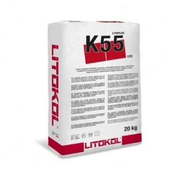 Tegellijm k55 Litoplus superflex poederlijm 20 kg