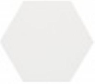 Tegels esagono bianco 25,0x29,0 cm