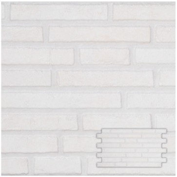 Tegels interlock harman white 25,0x45,0 cm