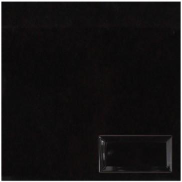 Tegel metro zwart 7,5x15,0 cm