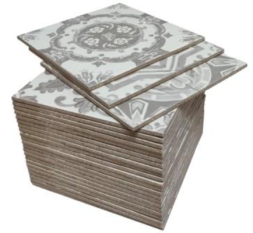 Tegels nikea sepia grijs mix 20,0x20,0 cm