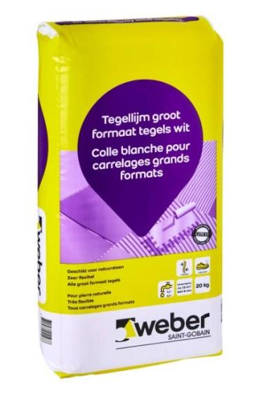 Tegellijm weber tile special 20 kg