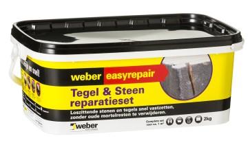Weber Tegels & steen reparatie 2 kg