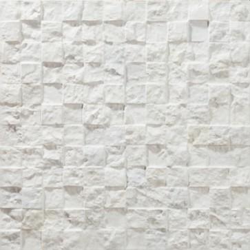 Tegels mosaico petra 19 blanco 3d 30x30 cm
