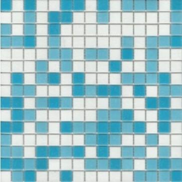 Mozaiek glas a11/32/33 lichtblauw 2,0x2,0x0,4 zwembad