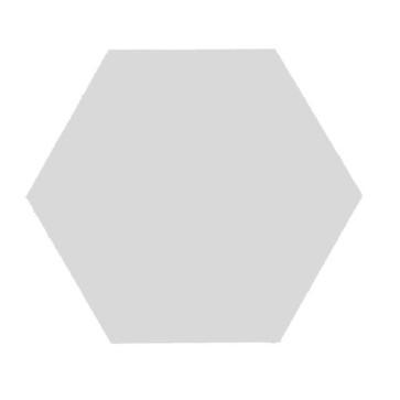 Tegels kashba 1u lichtgrijs hexagon 17x19,5cm
