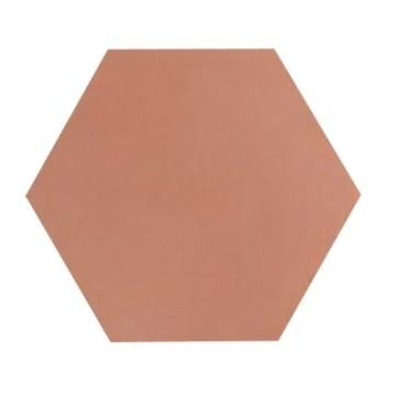 Tegels kashba u473 zalm roze hexagon 17x19,5cm