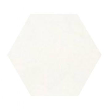 Tegels kashba u11hex wit hexagon 17x19,5cm