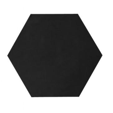 Tegels kashba u01hex zwart hexagon 17x19,5cm