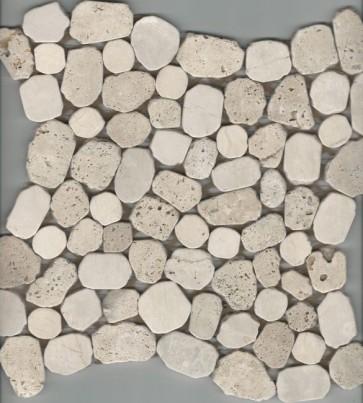 Mozaiek travertin botticino mix 29,4x29,4