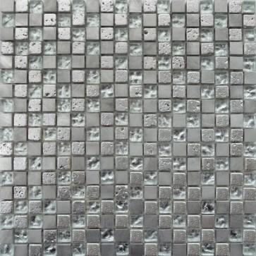 Mozaiek fantasia ft.001 silver mix 1,5x1,5x0,8