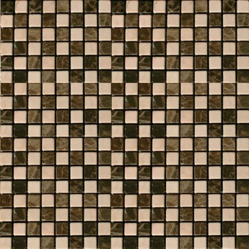 Mozaiek naturale nm.001 emperador 1,5x1,5x0,8