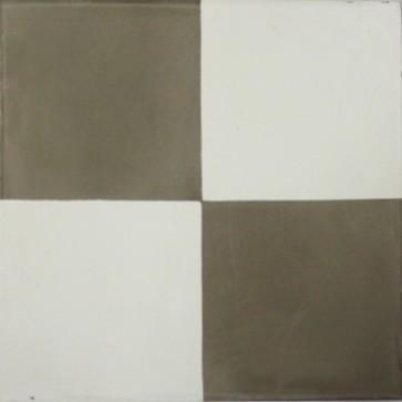 Tegels kashba 4 kant decor grijs-wit 20x20x1,5