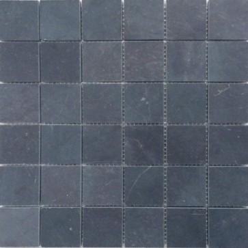 Natuursteen limestone dark mozaiek 5x5x1