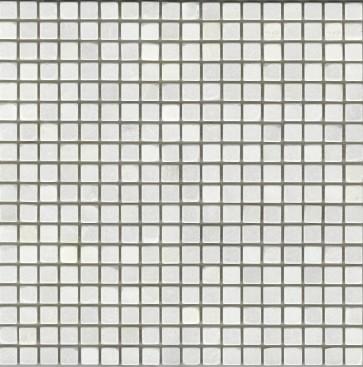 Mozaiek marmer moz.wit 1,5x1,5x0,8