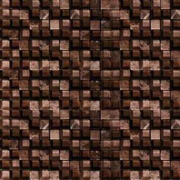Mozaiek illusion il.002 africa 1,5x1,5x0,8
