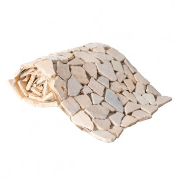 Mozaiek beachstone rol beige 34,0x150,0
