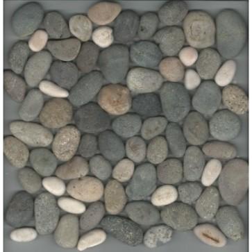 Mozaiek pebblestone mix 29,4x29,4