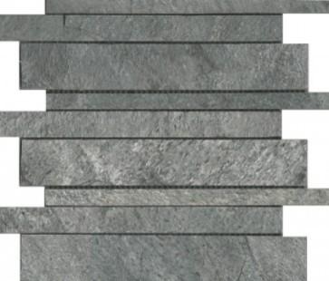 Mozaiek silver grey interlock quartzite 30,0x30,0x1,0