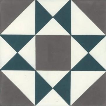 Tegels kashba blu grenelle 20x20